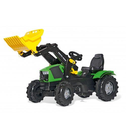 Traktors ar pedāļiem un kausu Rolly Toys rollyFarmtrac Deutz-Fahr 5120 (3 - 8 gadiem ) 611201