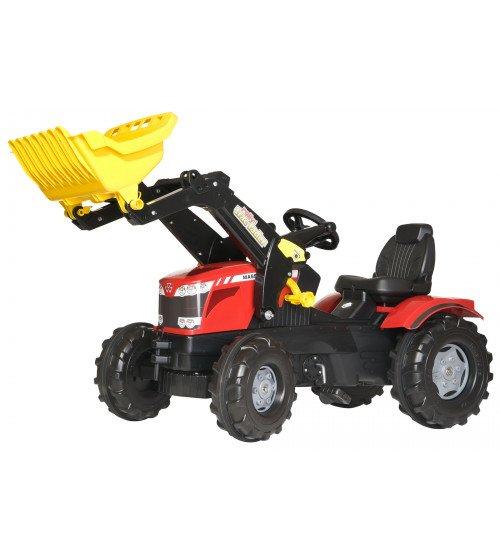 Traktors ar pedāļiem un kausu Rolly Toys rollyFarmtrac MF 611133