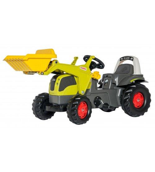 Traktors ar pedāļiem un kausu Rolly Toys rollyKid Claas Elios 025077