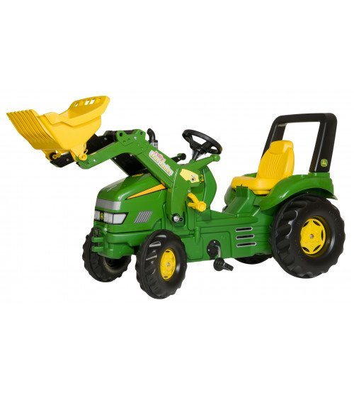 Traktors ar pedāļiem un kausu Rolly Toys rollyX-Trac John Deere 046638