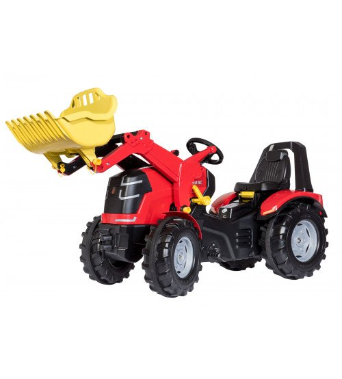 Traktors ar pedāļiem un kausu Rolly Toys rollyX-Trac Premium ( 3 - 10 gadiem) 651009