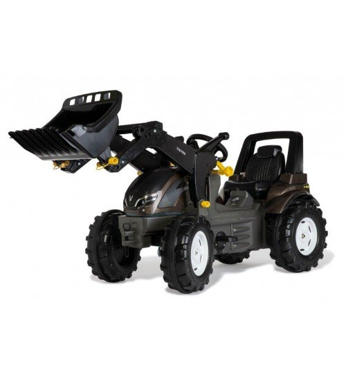Traktors ar pedāļiem un kausu rollyFarmtrac Valtra 710409