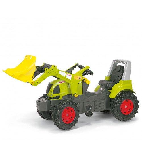 Traktors ar pedāļiem un noņemāmo kausu Rolly Toys rollyFarmtrac CLAAS ARION 640  ( 3 - 8 gadiem) 710232
