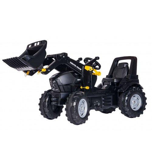 Traktors ar pedāļiem un noņemāmo kausu Rolly Toys rollyFarmtrac Deutz Agrotron TTV Warrior (3 - 8 gadiem) 710348