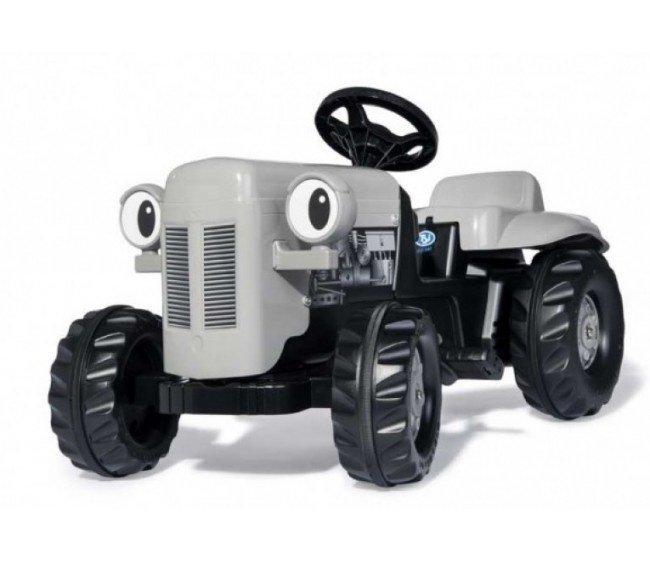 Traktors ar pedāļiem un piekabi Rolly KID Little Grey Fergie (2,5-5 gadiem) 014941