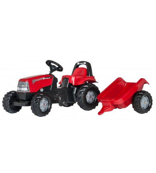Traktors ar pedāļiem un piekabi Rolly Toys Rolly KID Case 1170CVX 012411