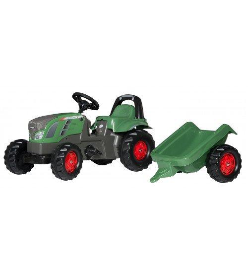Traktors ar pedāļiem un piekabi Rolly Toys Rolly KID Fendt 516 Vario 013166