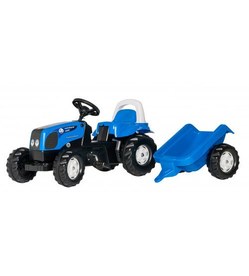Traktors ar pedāļiem un piekabi Rolly Toys Rolly KID Landini 011841
