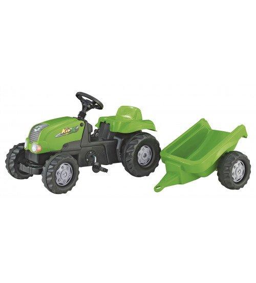 Traktors ar pedāļiem un piekabi Rolly Toys Rolly KID - X 012169