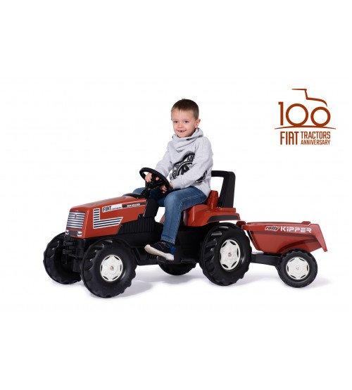 Traktors ar pedāļiem un piekabi rollyFarmtrac Fiat Centenario (3-8 gadiem) 601318