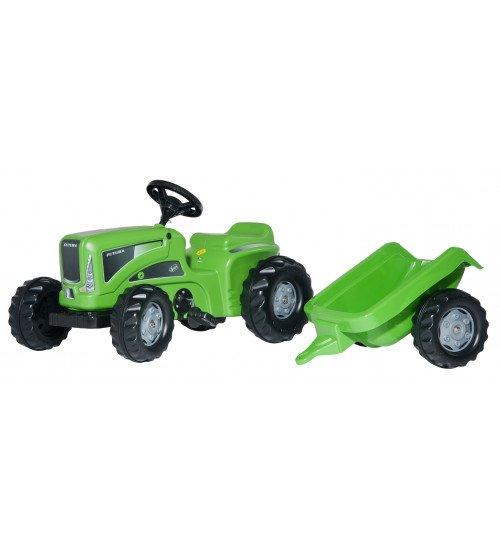 Traktors ar pedāļiem un piekabi RollyKiddy Futura 620005 (2,5-5 gadiem ) Vācija