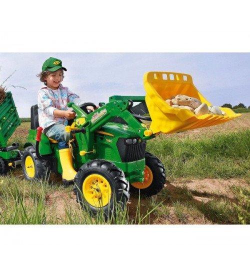 Traktors ar pedāļiem un piepūš. riteņiem Rolly Toys rollyFarmtrac John Deere 7930 ( 3 - 8 gadiem) 710126