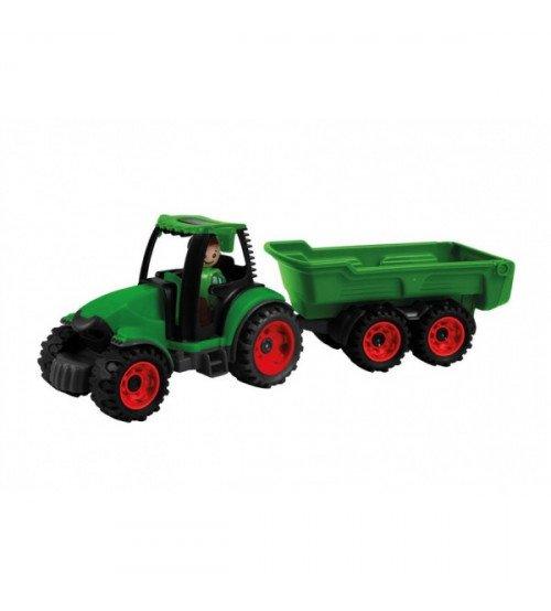 Traktors ar piekabi 38 cm Lena Truckies (kastē) L01625