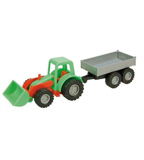 Traktors ar piekabi Mini Lena (kastē) L01240