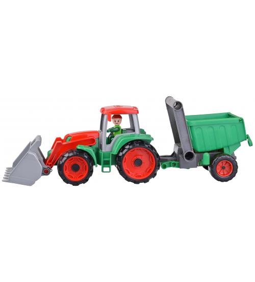 Traktors ar piekābi Truxx 56 cm (kastē) L04427 Čehija