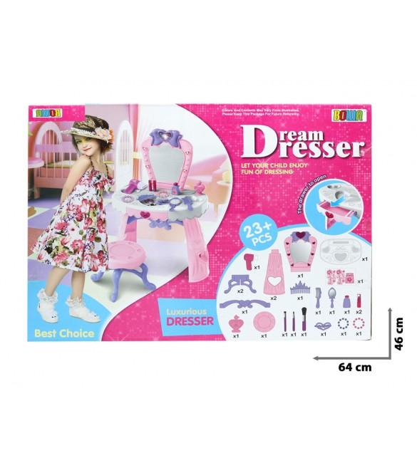 Tualetes galdiņš ar skaņu un gaismu Dream Dresser TG408983
