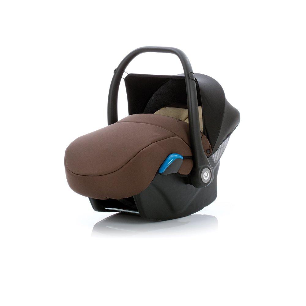 TUTIS Aero Brown Bērnu autosēdeklis 0-13 kg (ar kāju pārvalku)