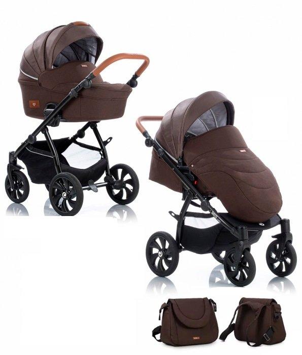 TUTIS Aero Cocao 106 Bērnu rati 2in1