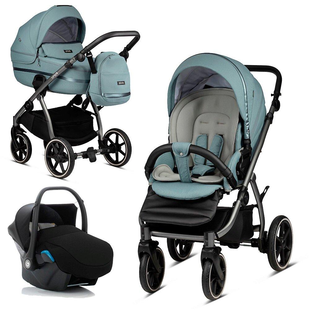 Tutis Uno 3 Plus Menta 143 Bērnu rati 3in1