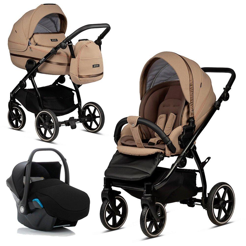 Tutis Uno 3 Plus Nougat 146 Bērnu rati 3in1
