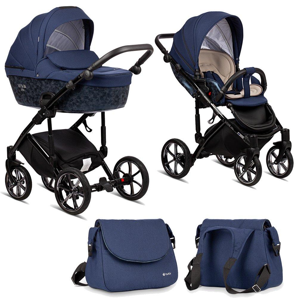 TUTIS Viva Life Limited Edition 044 Sapphire Bērnu rati 2in1
