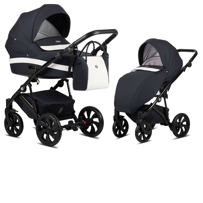 TUTIS Zippy 155 Navy Bērnu rati 2in1