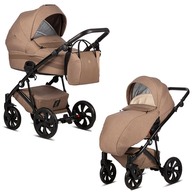 TUTIS Zippy 158 Brown Bērnu rati 2in1