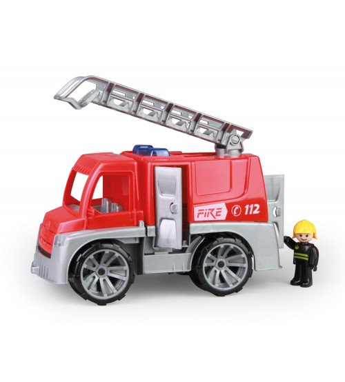 Ugunsdzēsēju mašīna ar cilvēciņu Truxx 29 cm kastē Čehija L04457