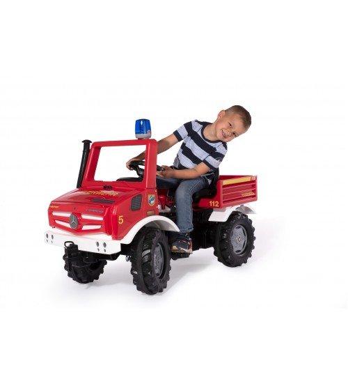 Ugunsdzēsēju mašīna ar pedāļiem RollyUnimog Fire 038220