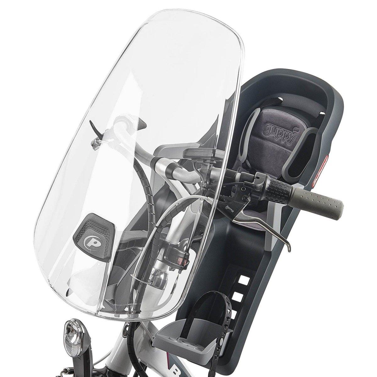 Vējstikls velosēdeklim Polisport WINDSCREEN FRONT SEATS