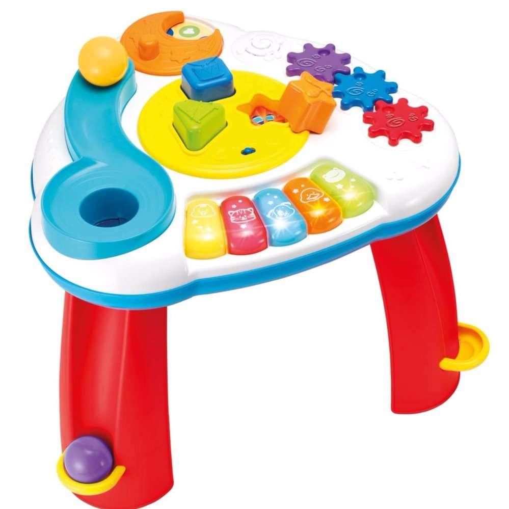 Winfun Balls N Shapes Musical Table Attīstošais centrs - galdiņš