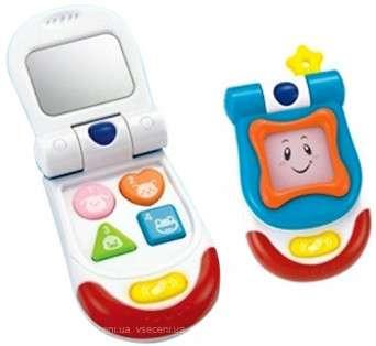 Winfun Flip Up Sounds Phone  Bērnu attīstoša muzikālā rotaļlieta telefons