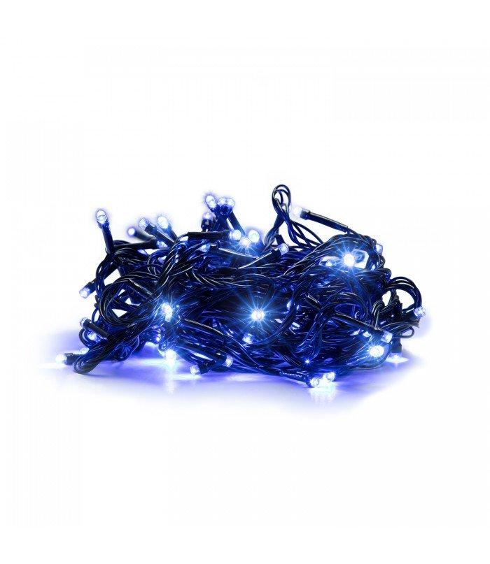 Ziemassvētku virtene Blue 100 LED 9.5 m