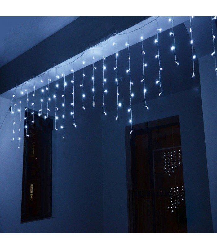 Ziemassvētku virtene Lāstekas Blue 100 LED 3.2 m
