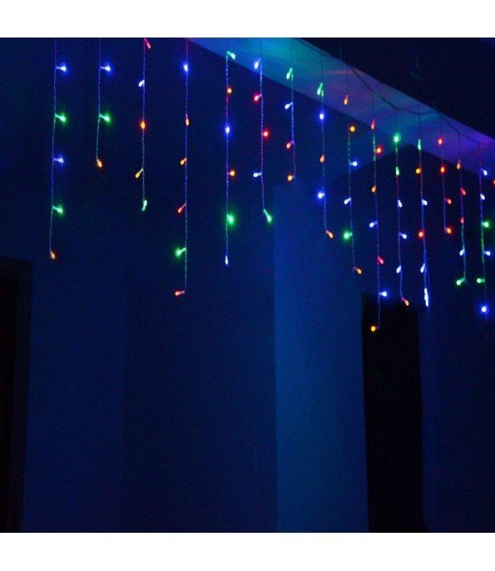 Ziemassvētku virtene Lāstekas Multicolor 200 LED 7,5 m