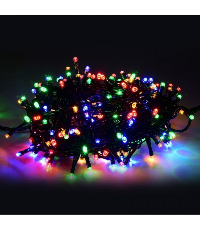 Ziemassvētku virtene Multicolor 500 LED 36,5 m