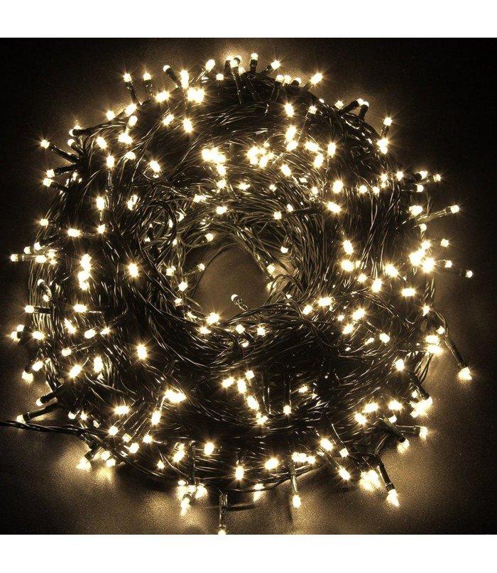 Ziemassvētku virtene Warm White 500 LED 36.5 m