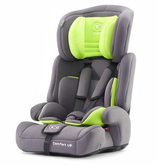 KinderKraft Comfort Up Lime Autosēdeklītis 9-36 kg