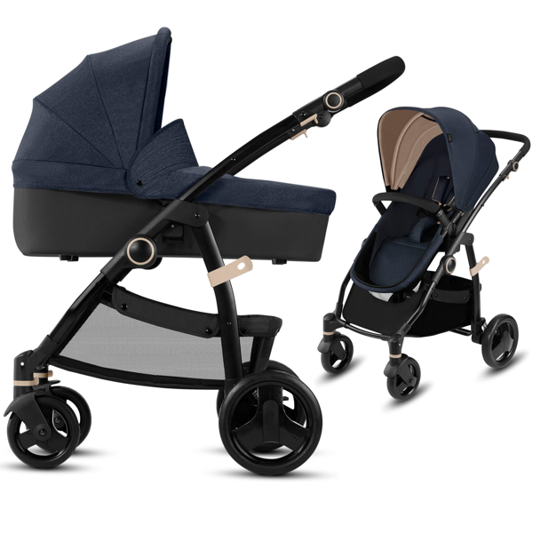 CBX by Cybex Leotie Pure Jeansy Blue Bērnu rati 2in1