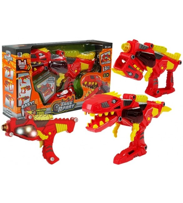 Dinozaurs-transformers 3in1 88257