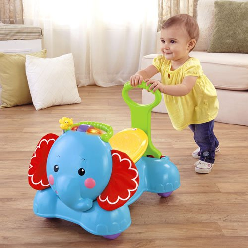 Fisher Price 3in1 Bounce, Stride and Ride Elephant CBN62 Stumjamais auto