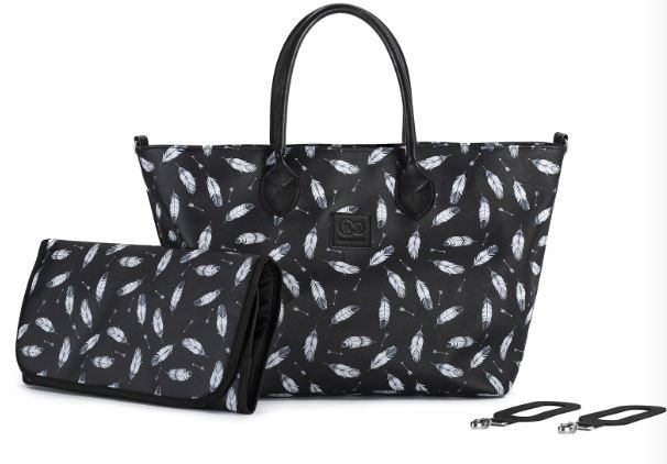 Kinderkraft Mommy Bag Black ratu soma