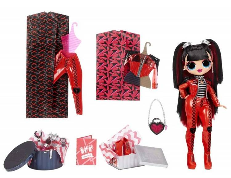 MGA LOL SURPRISE O.M.G. Spicy Babe Fashion Doll + 20 Surprises