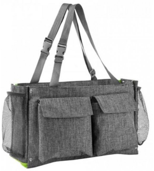 Ratiņu soma AKUKU CLEVER BAG grey A0402