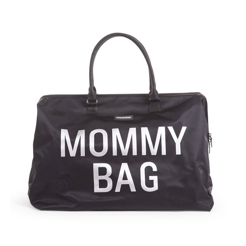 Ratiņu soma CHILDHOME Mommy Bag big black