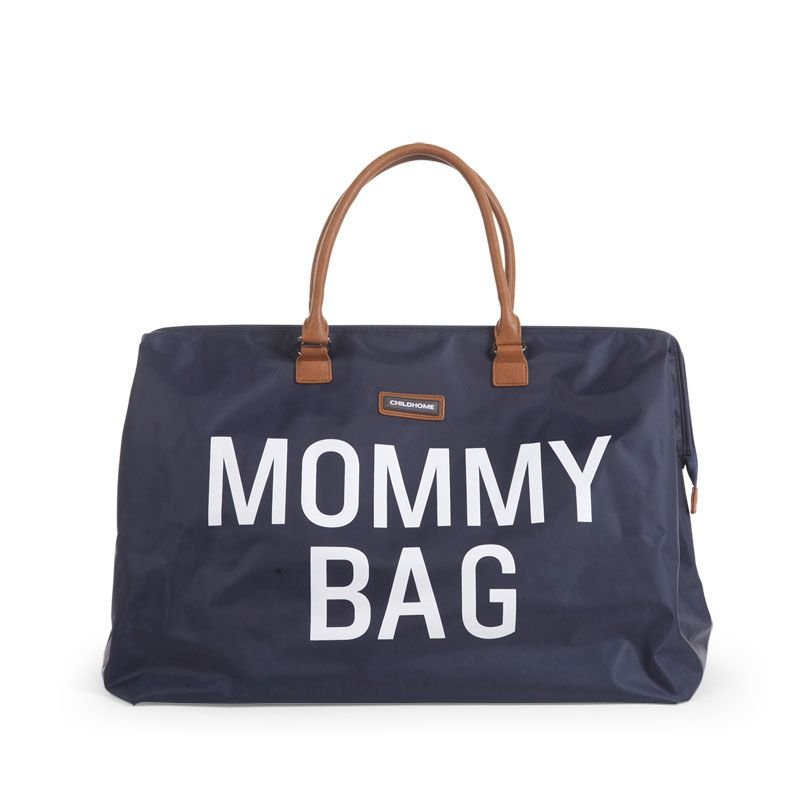 Ratiņu soma CHILDHOME Mommy Bag big navy